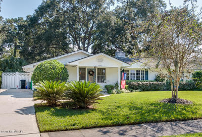 Duval County Single Family Home For Sale: 5043 Arapahoe Ave