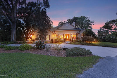 St. Johns County Single Family Home For Sale: 1912 Grove Bluff Rd