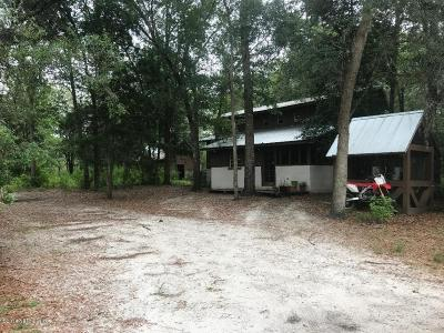 Single Family Home For Sale: 1782 St Marys River Bluff Rd