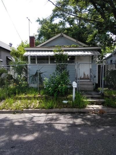 Jacksonville Single Family Home For Sale: 811 Rushing St