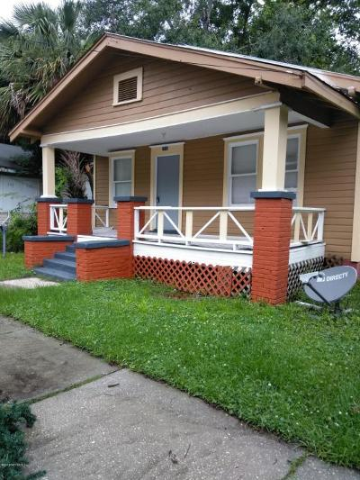 Single Family Home For Sale: 2915 Fitzgerald St