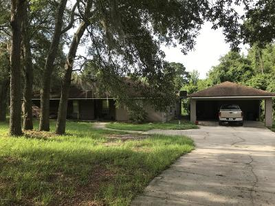 Green Cove Springs Single Family Home For Sale: 3607 Ed's Court Ct