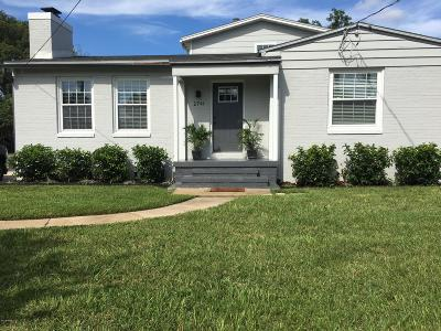 Jacksonville Single Family Home For Sale: 2741 Hendricks Ave