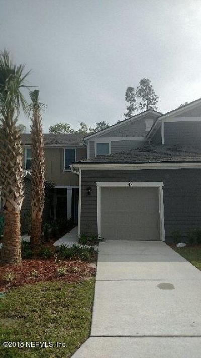 St. Johns County Townhouse For Sale: 784 Servia Dr