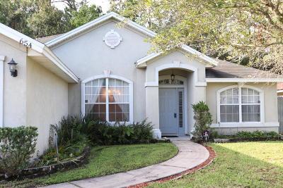 Duval County Single Family Home For Sale: 654 S Bonaparte Ln