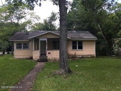 Jacksonville Single Family Home For Sale: 1052 Woodstock Ave