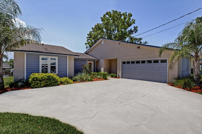 Jacksonville Single Family Home For Sale: 4314 Tideview Dr