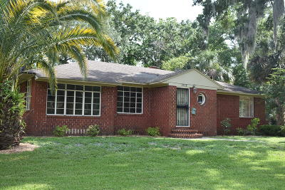 Jacksonville Single Family Home For Sale: 1908 Morningside St