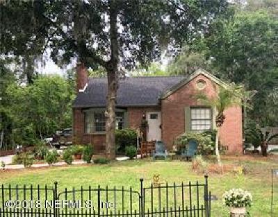 Fernandina Beach Single Family Home For Sale: 114 S 17th St