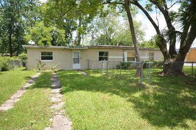 Jacksonville Single Family Home For Sale: 5103 Abel Ln