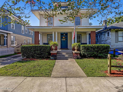 Jacksonville Single Family Home For Sale: 2038 College St