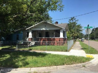 Duval County Single Family Home For Sale: 4426 Springfield Blvd