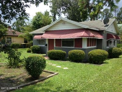 Duval County Single Family Home For Sale: 3716 Freeman Rd