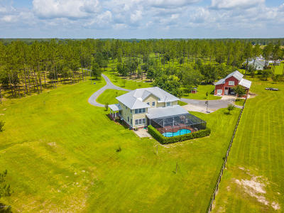 Glen St. Mary Single Family Home For Sale: 11427 Thistle Dew Ln