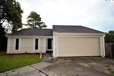 Jacksonville Single Family Home For Sale: 8350 Sunflower Ct