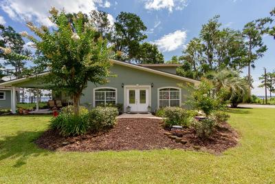 Green Cove Springs Single Family Home For Sale: 6167 County Rd 209 S