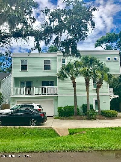 Neptune Beach Townhouse For Sale: 2109 Bartolome Rd