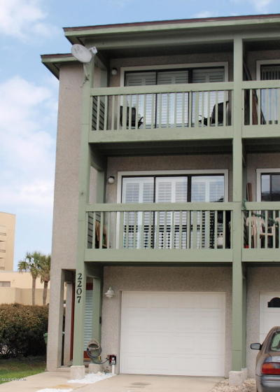 Jacksonville Beach Townhouse For Sale: 2207 1st St S