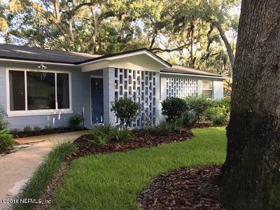 Jacksonville Beach Single Family Home For Sale: 1734 5th Ave N