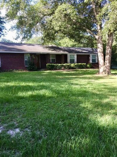 Glen St. Mary Single Family Home For Sale: 11482 Pine Loop Rd
