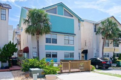 Jacksonville Beach Townhouse For Sale: 1711 2nd St S