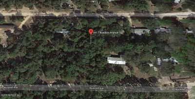 Residential Lots & Land For Sale: 6417 Bowdoin Ave