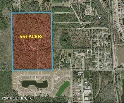 St. Johns County Residential Lots & Land For Sale: E Watson Rd