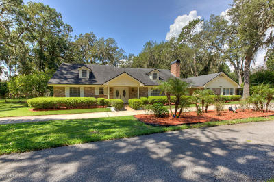 Mandarin Single Family Home For Sale: 2550 Hickory Bluff Ln