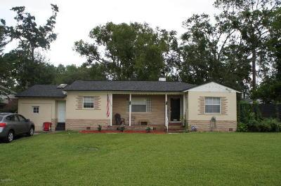 Jacksonville FL Single Family Home For Sale: $270,000