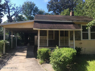 Jacksonville Single Family Home For Sale: 1044 Alderside St