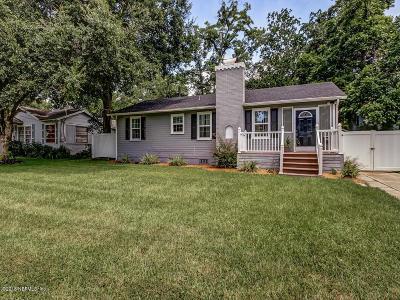 Duval County Single Family Home For Sale: 1747 Orlando Cir N