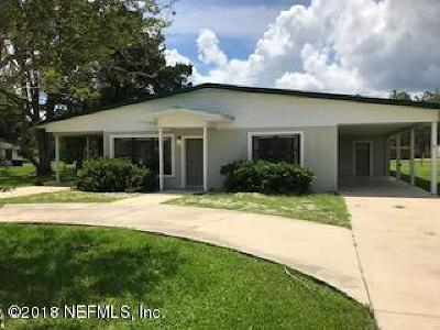 Starke Single Family Home For Sale: 13770 County Road 227 SW