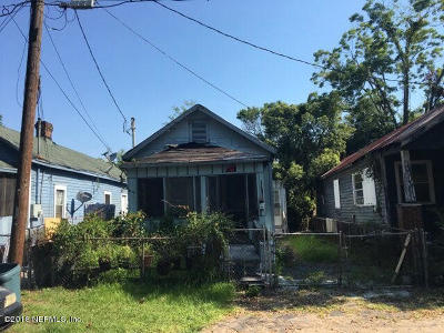 Jacksonville Single Family Home For Sale: 2115 Clemente Dr