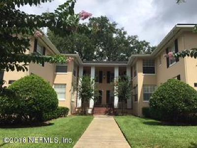 Duval County Condo For Sale: 2931 St Johns Ave #3