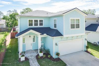 Jacksonville Beach Single Family Home For Sale: 3671 America Ave