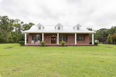 St Augustine Farm For Sale: 355 S Bar-B-Ranch Rd