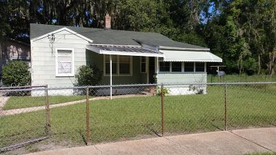 Jacksonville FL Single Family Home For Sale: $115,000