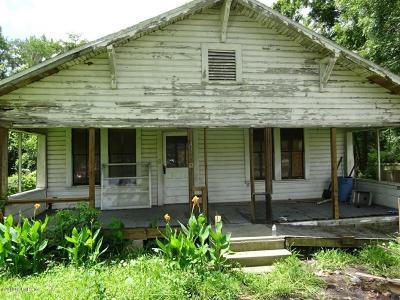 Starke Single Family Home For Sale: 322 Lafayette St