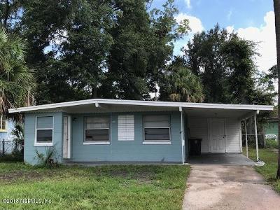 Jacksonville Single Family Home For Sale: 1117 Mc Conihe St
