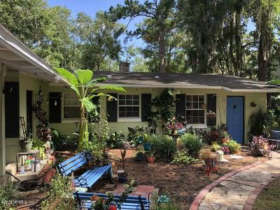Jacksonville Single Family Home For Sale: 8711 Sanchez Rd