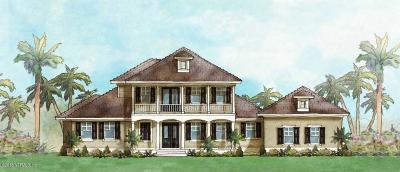Ponte Vedra Beach Single Family Home For Sale: 84 Sea Glass Way, Lot 4