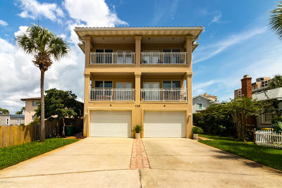 Jacksonville Beach Condo For Sale: 129 15th Ave #B