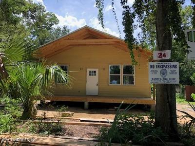 St. Johns County Single Family Home For Sale: 24 Arenta St