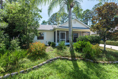 St. Johns County Single Family Home Contingent Take Backup: 120 Marsh Island Cir