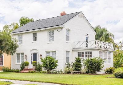 Jacksonville Single Family Home For Sale: 1233 River Oaks Rd