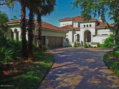 Fernandina Beach Single Family Home For Sale: 18 Salt Marsh Dr