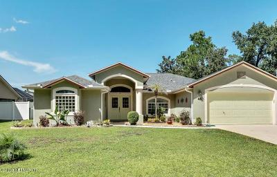 Flagler County Single Family Home For Sale: 46 Bickford Dr