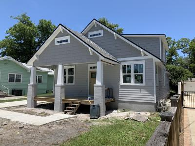 Jacksonville Single Family Home For Sale: 4335 Marquette Ave