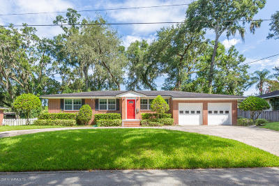 Jacksonville Single Family Home For Sale: 1367 Riverbirch Ln