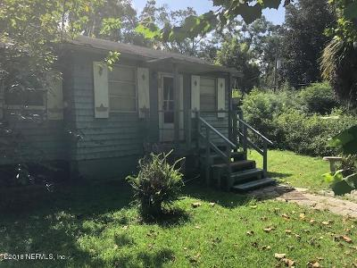 Jacksonville Single Family Home For Sale: 57 Beckwith St
